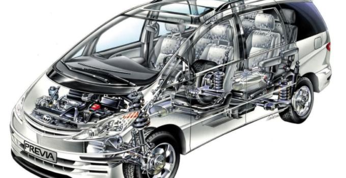 2022 Toyota Previa Engine
