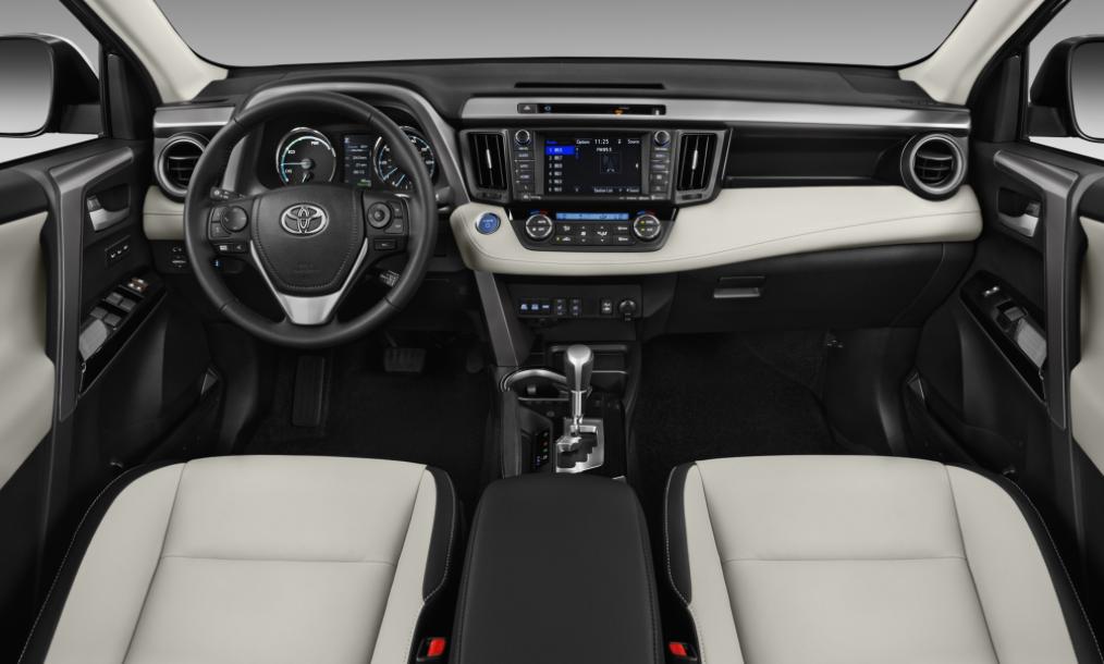 2022 Toyota RAV4 Interior