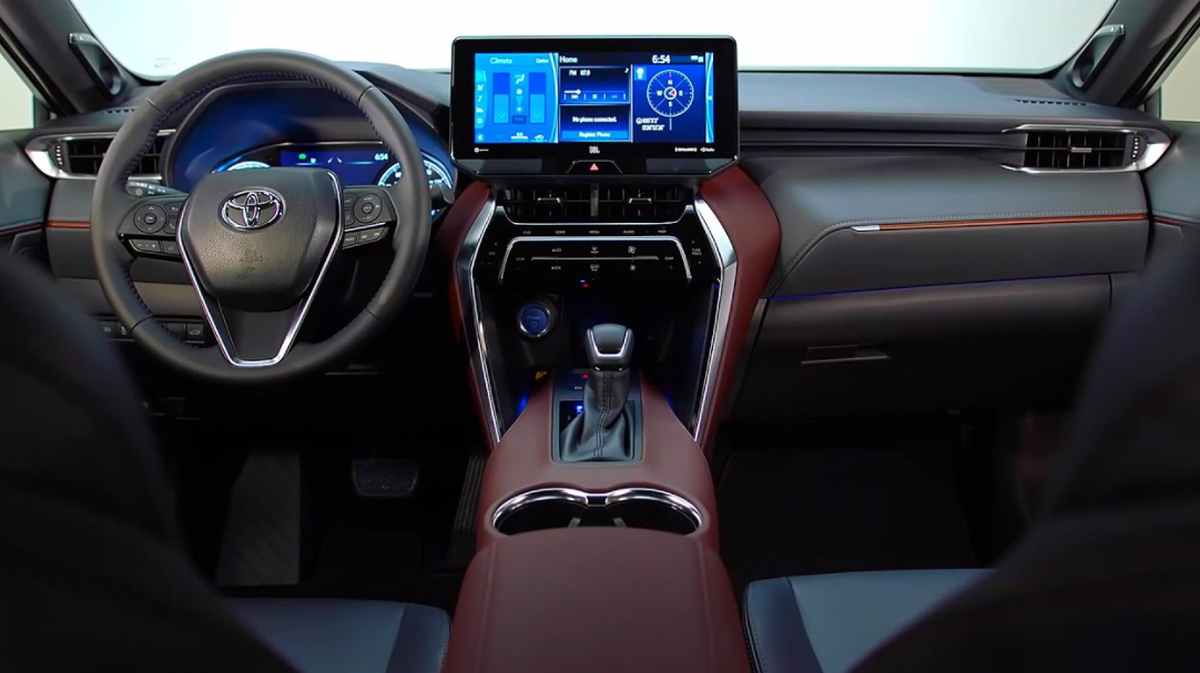 2022 Venza Toyota Interior