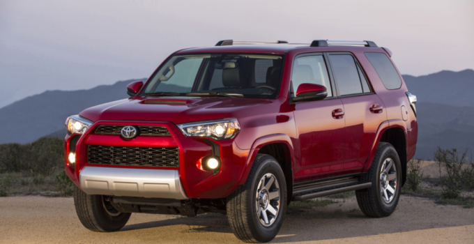 2023 Toyota 4runner Exterior