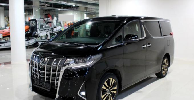 2022 Toyota Alphard Exterior