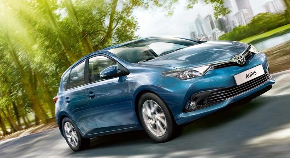 2022 Toyota Auris Exterior
