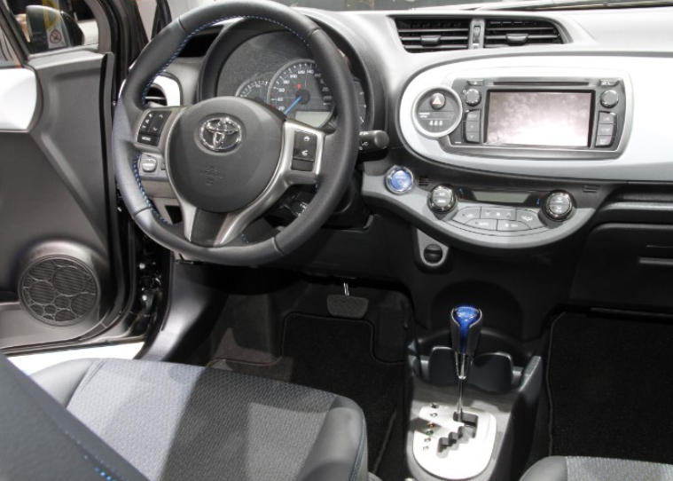 2022 Toyota Yaris Interior